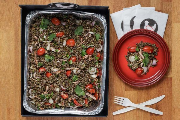 Lentil Salad for Catering